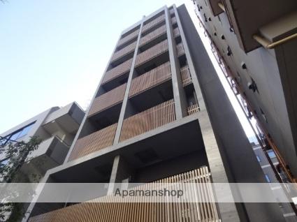 東京都港区、新橋駅徒歩7分の新築 8階建の賃貸マンション