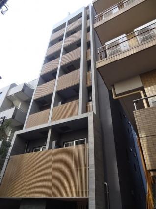 東京都港区、新橋駅徒歩8分の新築 8階建の賃貸マンション