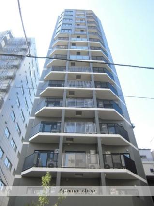 東京都港区、新橋駅徒歩7分の築2年 15階建の賃貸マンション