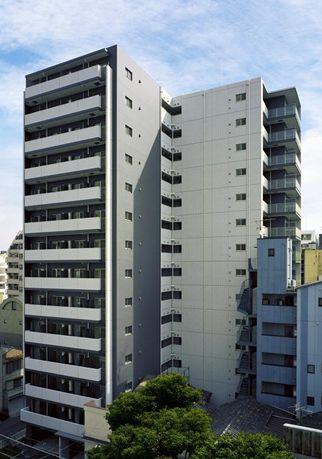 東京都台東区、浅草橋駅徒歩11分の築10年 14階建の賃貸マンション