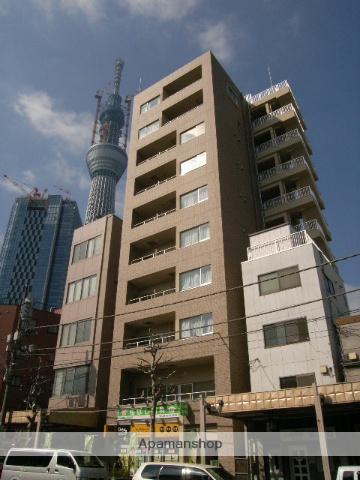 東京都墨田区、とうきょうスカイツリー駅徒歩10分の築7年 10階建の賃貸マンション