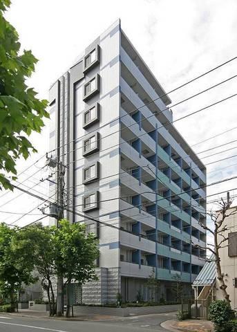 東京都江東区、越中島駅徒歩5分の築9年 9階建の賃貸マンション