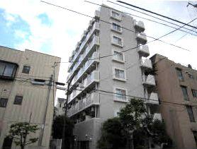 東京都江東区、亀戸駅徒歩11分の築24年 8階建の賃貸マンション