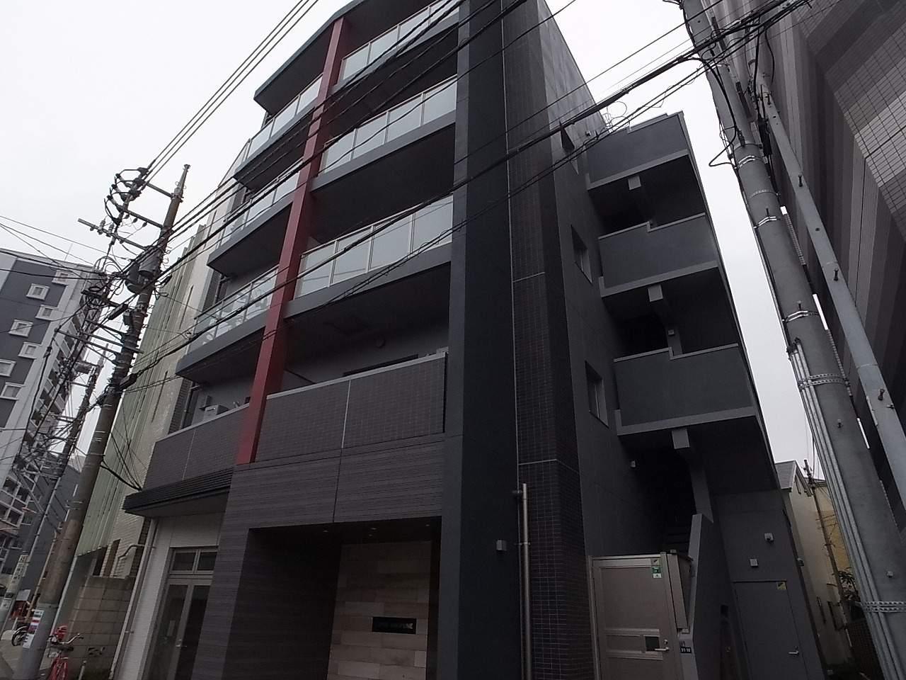東京都墨田区、曳舟駅徒歩11分の新築 5階建の賃貸マンション