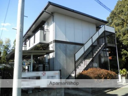東京都調布市、柴崎駅徒歩13分の築19年 2階建の賃貸アパート