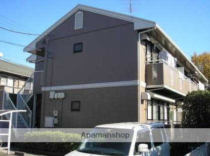 東京都調布市、調布駅徒歩17分の築23年 2階建の賃貸アパート