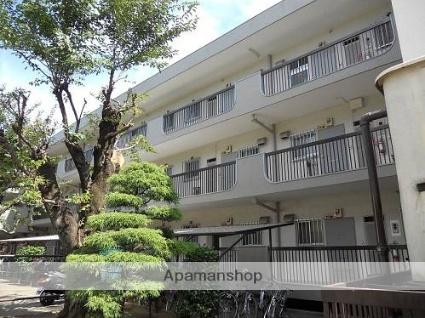 東京都武蔵野市、武蔵境駅徒歩12分の築40年 3階建の賃貸マンション