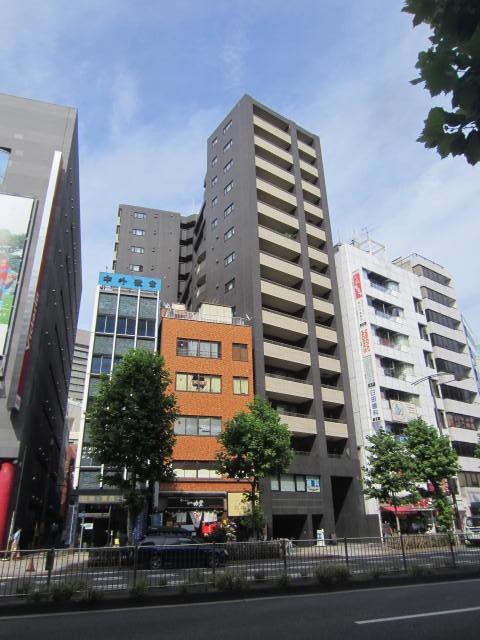 東京都千代田区、淡路町駅徒歩3分の築10年 14階建の賃貸マンション
