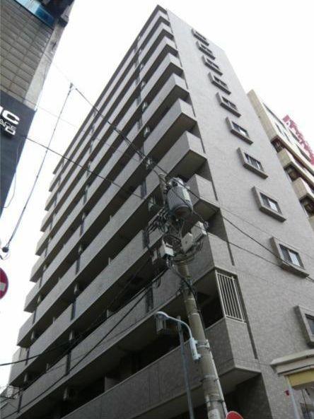 東京都台東区、田原町駅徒歩10分の築10年 11階建の賃貸マンション