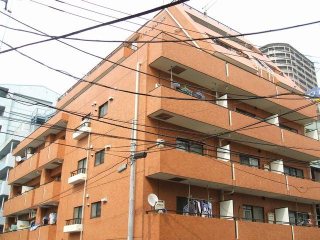 東京都台東区、日暮里駅徒歩5分の築28年 8階建の賃貸マンション