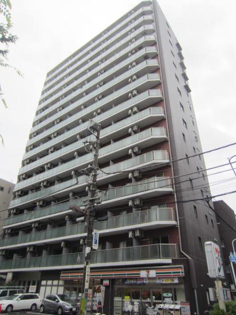 東京都台東区、御徒町駅徒歩4分の築11年 15階建の賃貸マンション