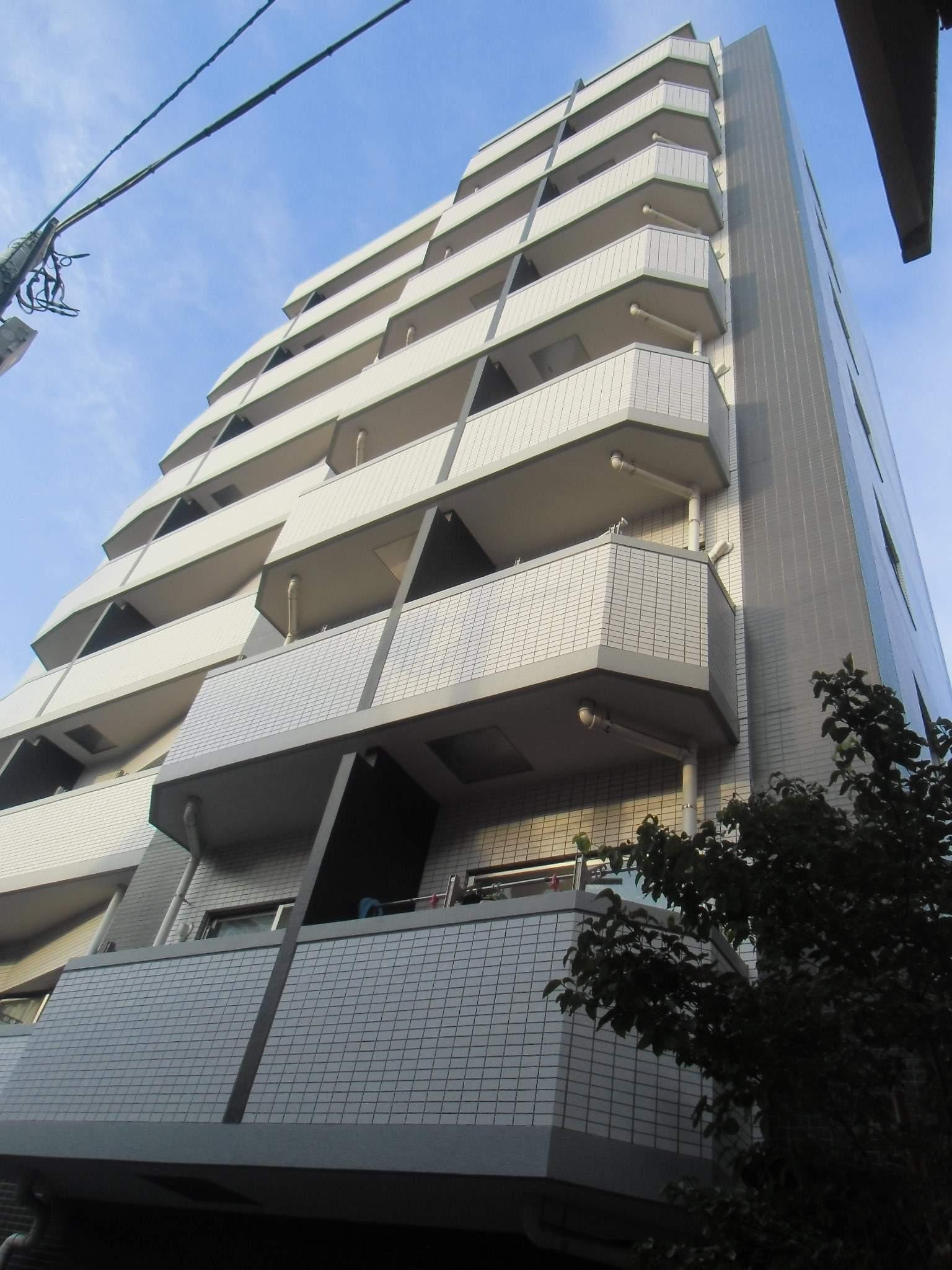 東京都台東区、南千住駅徒歩11分の築9年 9階建の賃貸マンション