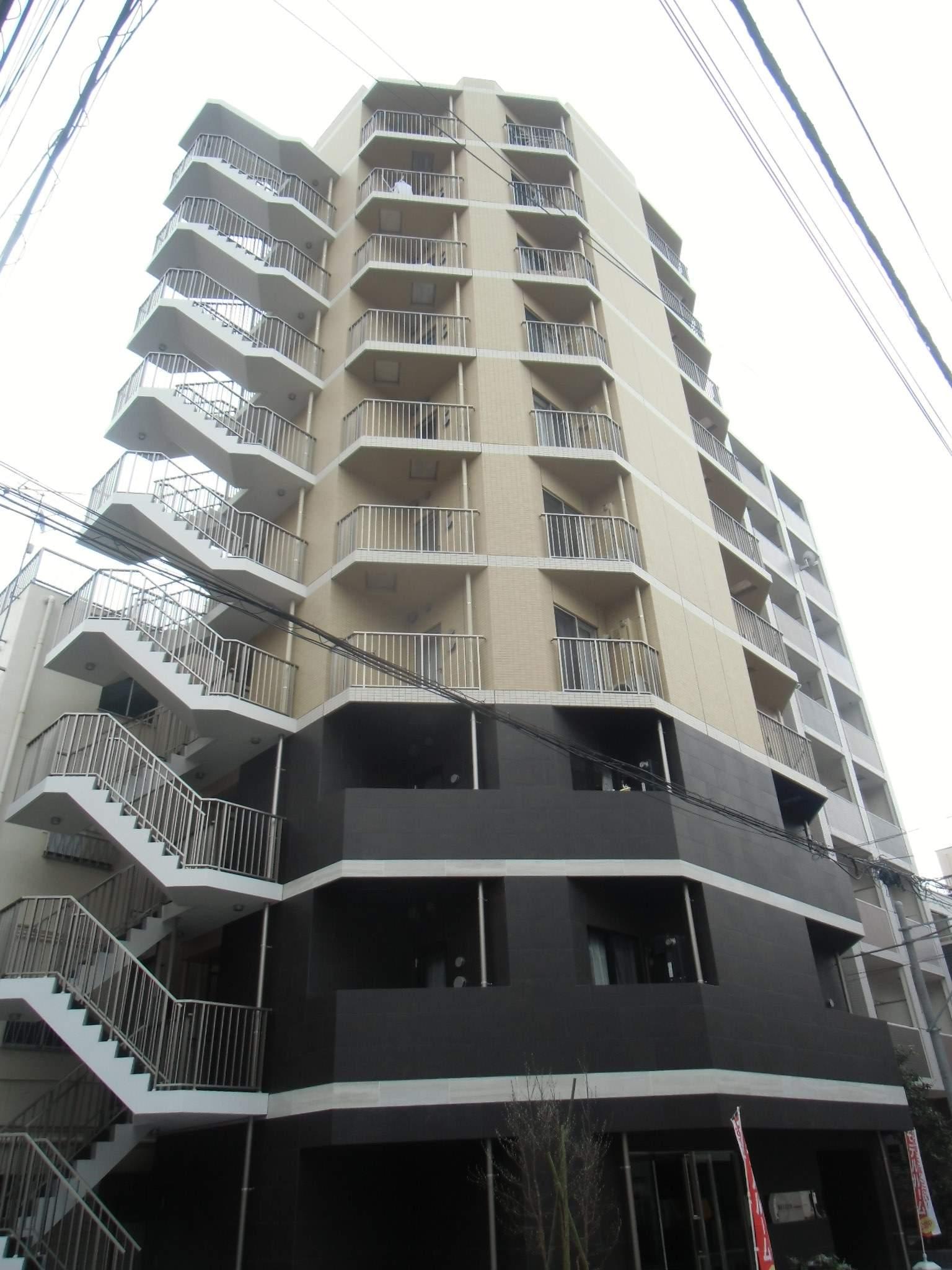 東京都台東区、浅草駅徒歩10分の築1年 10階建の賃貸マンション