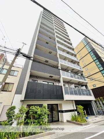 東京都台東区、上野駅徒歩4分の新築 14階建の賃貸マンション