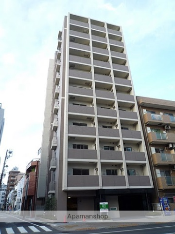 東京都台東区、浅草駅徒歩8分の築6年 10階建の賃貸マンション