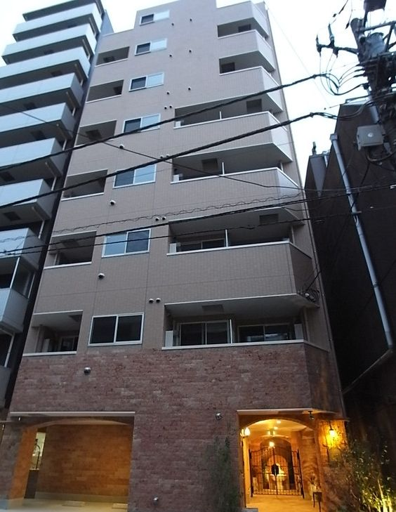 東京都台東区、新御徒町駅徒歩7分の築4年 8階建の賃貸マンション