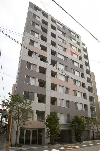 東京都台東区、上野駅徒歩10分の築9年 11階建の賃貸マンション