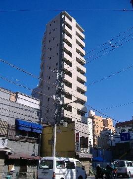 東京都文京区、西日暮里駅徒歩6分の築9年 14階建の賃貸マンション
