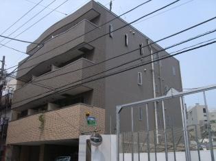 東京都台東区、三ノ輪駅徒歩10分の築14年 4階建の賃貸マンション
