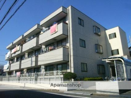 東京都江戸川区、新小岩駅徒歩17分の築28年 3階建の賃貸マンション
