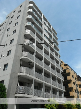 東京都墨田区、両国駅徒歩10分の築9年 10階建の賃貸マンション