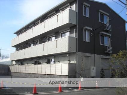 東京都江戸川区、新小岩駅徒歩29分の築4年 3階建の賃貸アパート