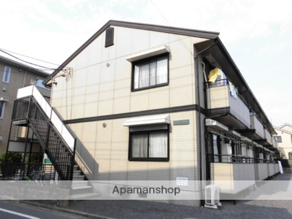 東京都練馬区、石神井公園駅徒歩19分の築25年 2階建の賃貸アパート