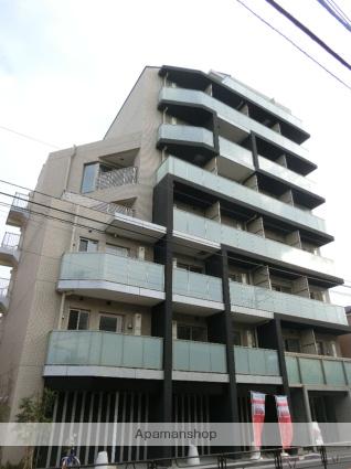 東京都台東区、日暮里駅徒歩15分の新築 8階建の賃貸マンション