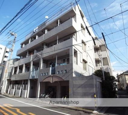東京都墨田区、曳舟駅徒歩9分の築27年 5階建の賃貸マンション