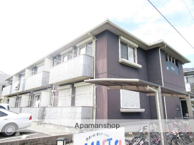 東京都日野市、高幡不動駅徒歩17分の築12年 2階建の賃貸アパート
