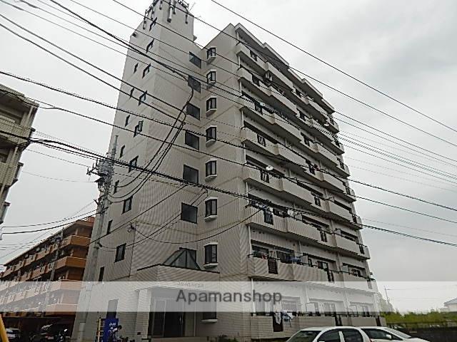 東京都立川市、武蔵砂川駅徒歩9分の築26年 8階建の賃貸マンション