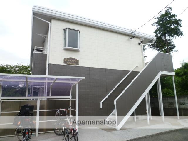 東京都東大和市、玉川上水駅徒歩26分の築26年 2階建の賃貸アパート