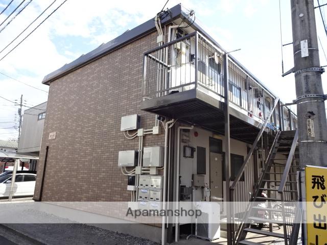 東京都立川市、立川駅徒歩15分の築35年 2階建の賃貸アパート