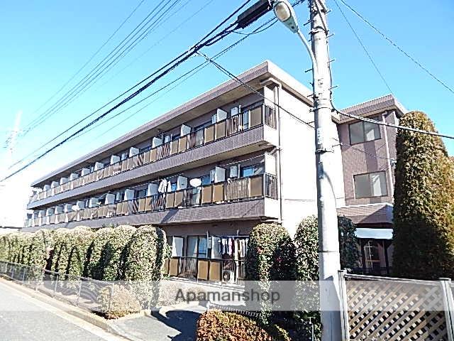 東京都立川市、玉川上水駅徒歩13分の築22年 3階建の賃貸マンション