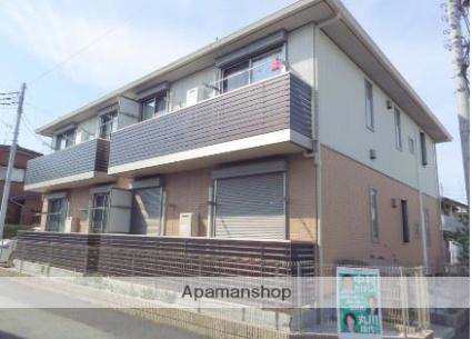 東京都昭島市、西立川駅徒歩10分の築3年 2階建の賃貸アパート