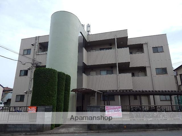 東京都立川市、国立駅バス7分変電所前下車後徒歩1分の築29年 3階建の賃貸マンション