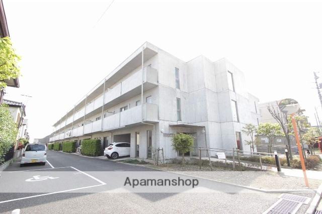 東京都立川市、玉川上水駅徒歩12分の築7年 3階建の賃貸マンション