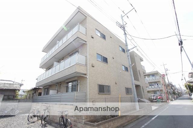 東京都立川市、立川駅徒歩17分の築9年 3階建の賃貸アパート