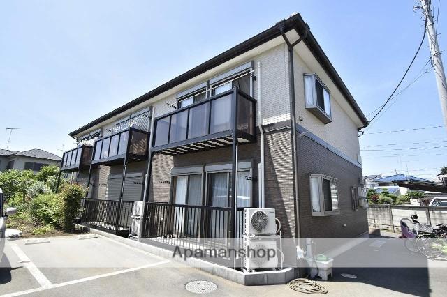 東京都昭島市、西立川駅徒歩20分の築3年 2階建の賃貸アパート