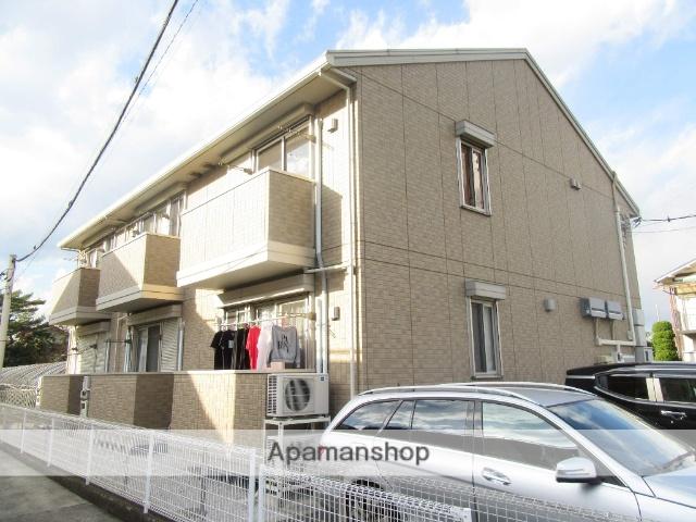 東京都日野市、日野駅徒歩14分の築7年 2階建の賃貸アパート