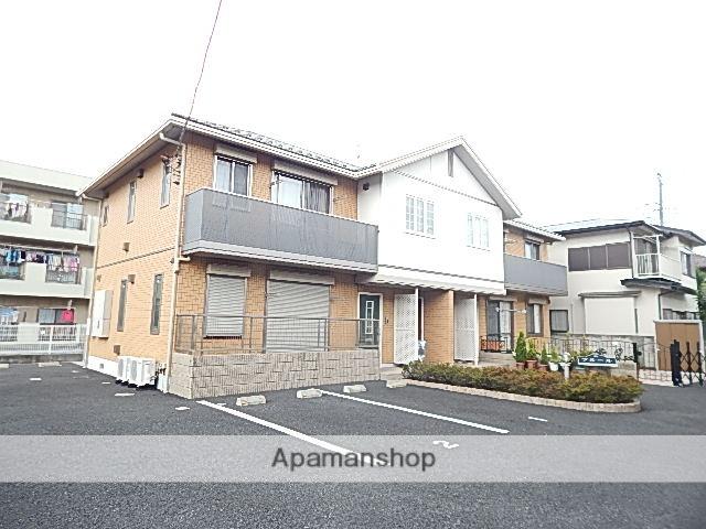 東京都立川市、国立駅バス9分変電所前下車後徒歩13分の築8年 2階建の賃貸アパート