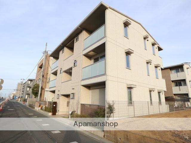 東京都日野市、豊田駅徒歩13分の築1年 3階建の賃貸アパート