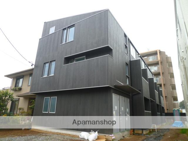 東京都日野市、豊田駅徒歩9分の築1年 3階建の賃貸アパート