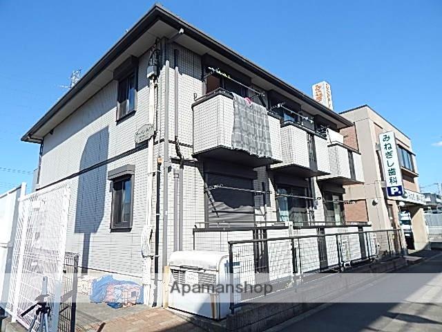 東京都日野市、高幡不動駅徒歩19分の築10年 2階建の賃貸アパート