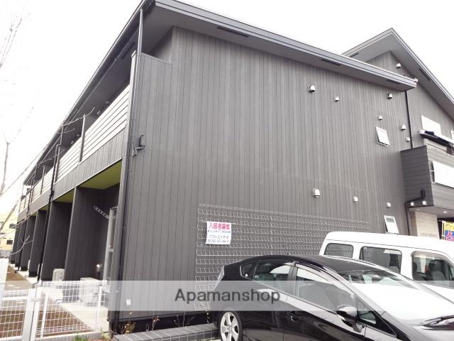 東京都日野市、日野駅徒歩17分の築2年 2階建の賃貸アパート