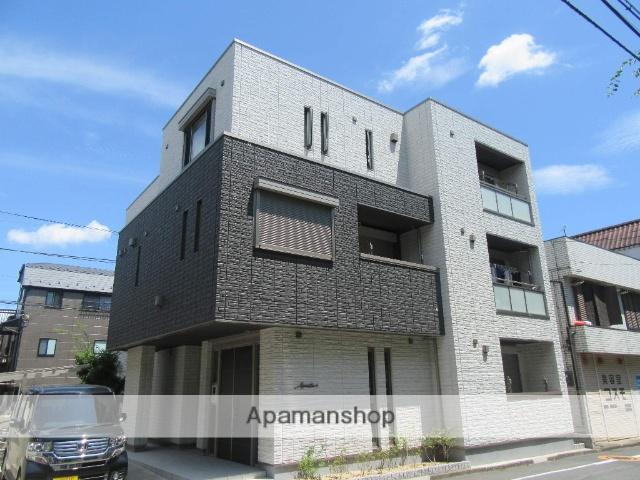 東京都立川市、玉川上水駅徒歩5分の築1年 3階建の賃貸マンション