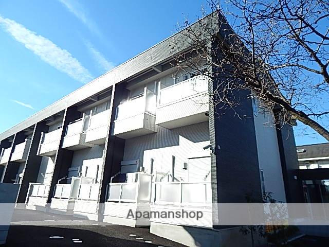 東京都東大和市、玉川上水駅徒歩15分の築1年 2階建の賃貸アパート