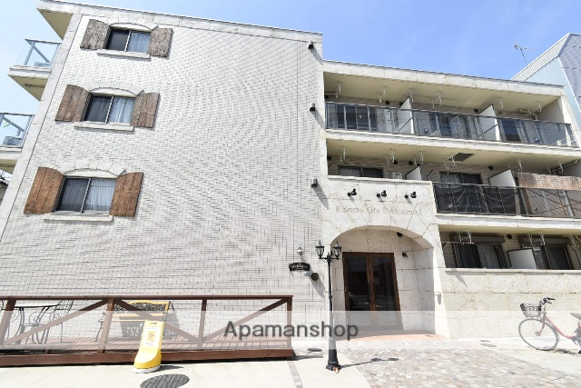 東京都立川市、西国立駅徒歩8分の築1年 4階建の賃貸マンション