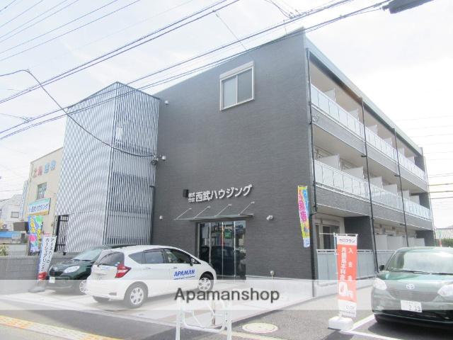東京都立川市、昭島駅徒歩30分の新築 3階建の賃貸アパート