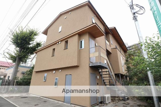 東京都立川市、立川駅徒歩9分の新築 3階建の賃貸アパート